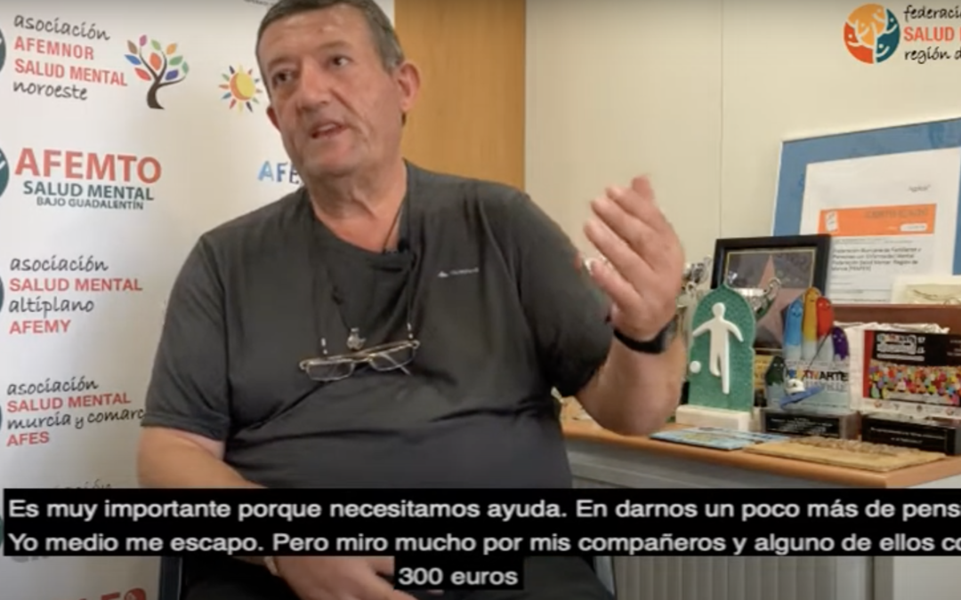 """José Pagán: """"Es muy importante hablar de Salud Mental porque necesitamos ayuda"""""""