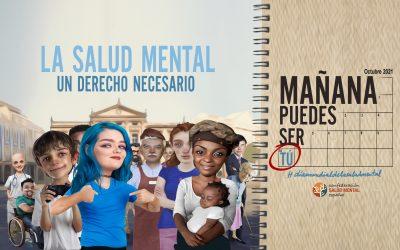 Ya tenemos identidad visual para el Día de la Salud Mental 2021